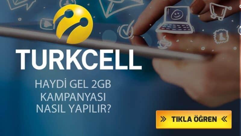Turkcell 4.5G Lifebox Bedava 5 GB internet Kampanyası 2021