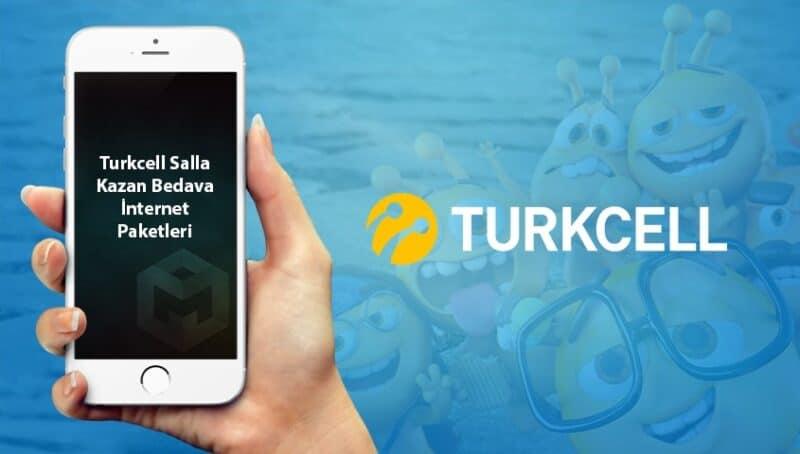 Turkcell Sınırsız Bedava İnternet Paketleri 2021