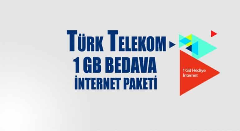 Türk Telekom 1 GB Kazan Kampanyası 2021