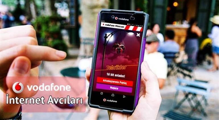 Vodafone İnternet Avcıları İle Bedava İnternet