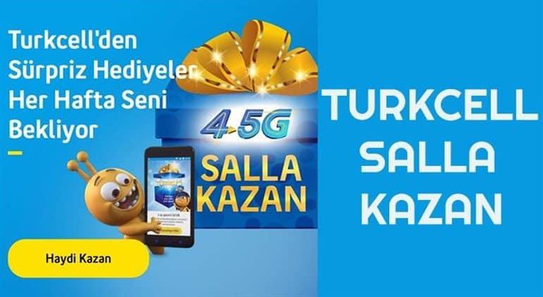 Turkcell 4.5G Salla Kazan Kampanyası 2021