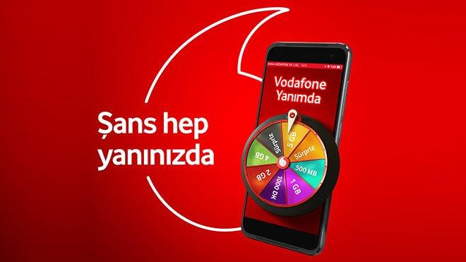 Vodafone Yanımda Hediye İnternet Kampanyası