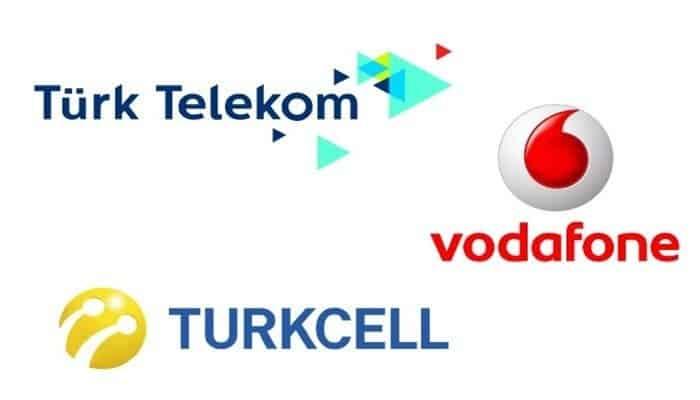 Vodafone, Turkcell, Türk Telekom Taahhüt Sorgulama