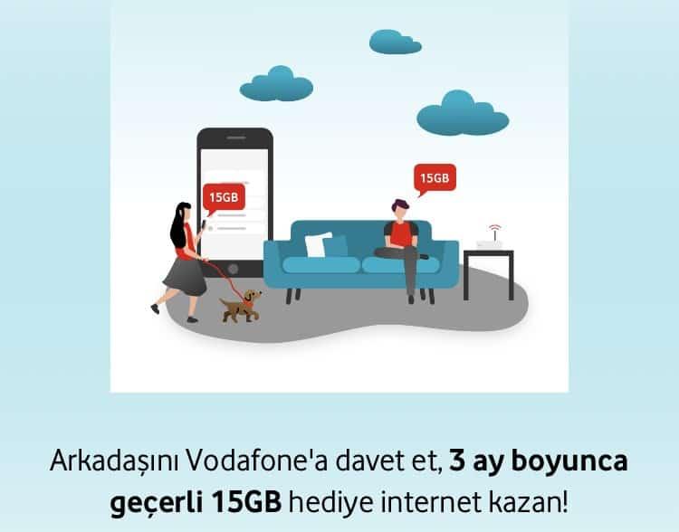 Arkadaşını Getir 15 GB İnternet