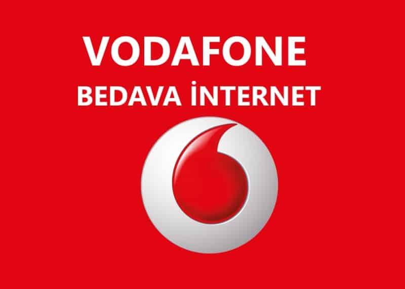 Vodafone Bedava İnternet | Hediye İnternet Kampanyaları 2021
