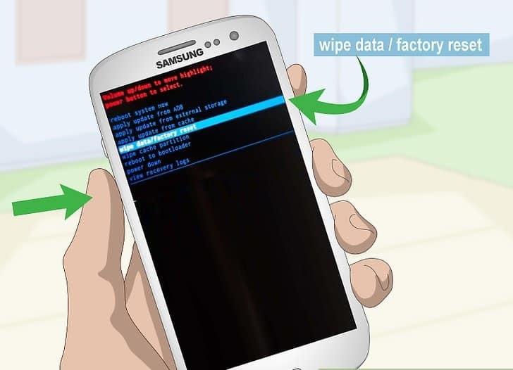 Wipe Data Factory Reset Ne Demek ?