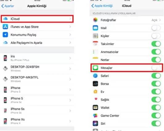 iphone silinen mesajları geri getirme 3